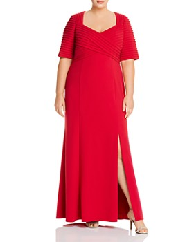 Adrianna Papell Plus - Crepe Gown