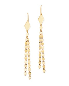 Moon & Meadow - 14K Yellow Gold Tassel Drop Earrings - 100% Exclusive
