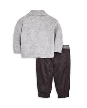 Miniclasix - Boys' Open Cardigan, Tee & Pants Set - Baby