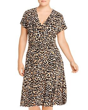 Leota Plus - Amiya Faux-Wrap Dress