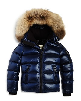 SAM. - Unisex Arctic Fur-Trimmed Down Jacket - Big Kid