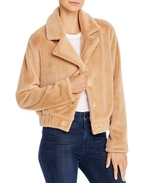Finders Keepers Sugar Faux-Fur Jacket