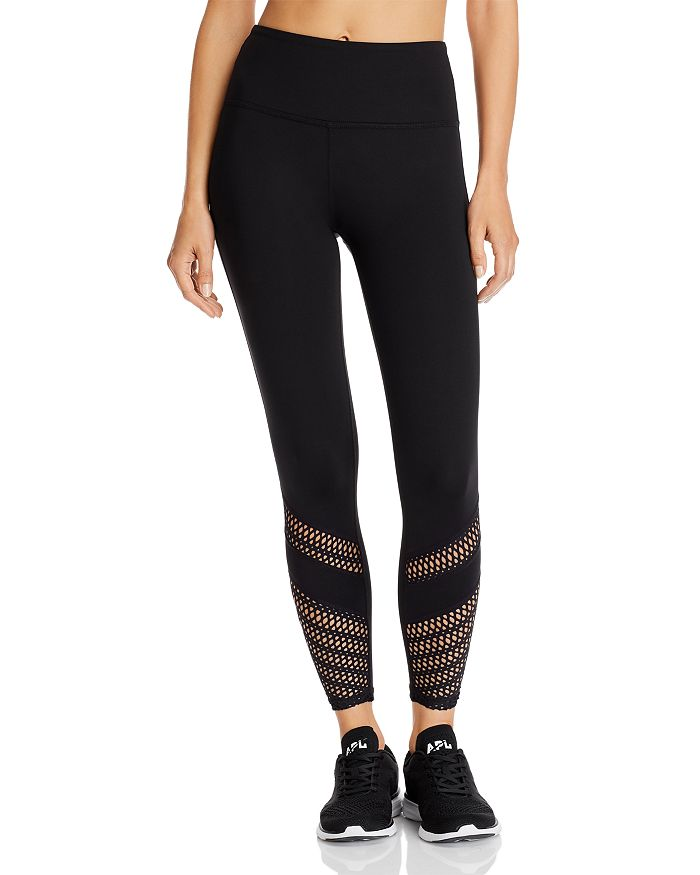 Beyond Yoga - Top Notch Laser-Cut Leggings - 100% Exclusive