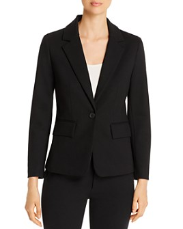 Kenneth Cole - Ponte Single-Button Blazer