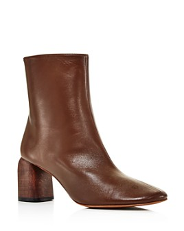 LoQ - Women's Georgia Leather Ankle Booties