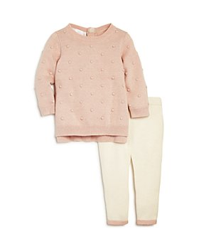 Bloomie's - Girls' Dotted Sweater & Leggings Set, Baby - 100% Exclusive
