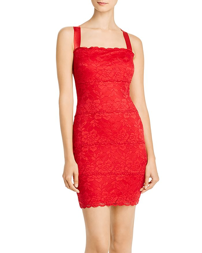 GUESS - Renny Lace Body-Con Dress