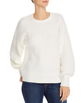 Line & Dot - Jillian Honeycomb Sweater