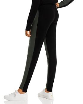 Minnie Rose - Color-Block Cashmere Jogger Pants