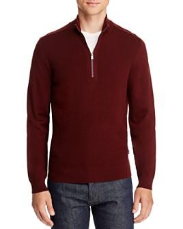 BOSS - Bagatti Quarter-Zip Sweater - 100% Exclusive