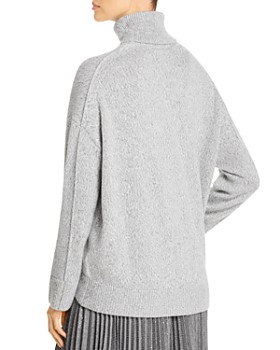 Lafayette 148 New York - Cashmere Sequined Turtleneck Sweater