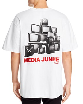 WeSC - Mason Media Junk Graphic Tee