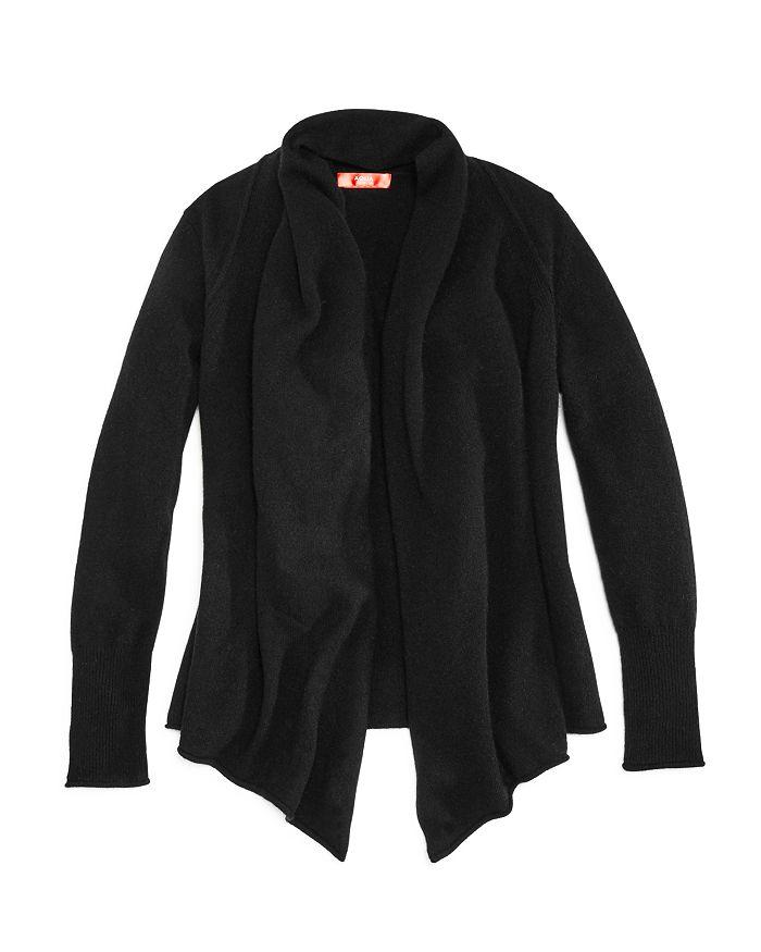 AQUA - Girls' Cashmere Open Cardigan, 100% Exclusive - Big Kid