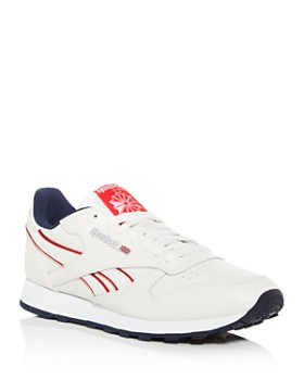 Reebok - Men's Classic Leather Low-Top Sneakers