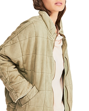Free People Jackets Quilted Dolman-Sleeve Jacket