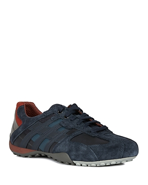 Geox Men\\\'s Snake Lace-Up Sneakers