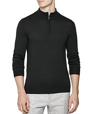 Reiss Blackhall Funnel Quarter-Zip Sweater (Clearance)