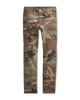 Ralph Lauren - Boys' Sullivan Slim Fit Camo Jeans - Big Kid