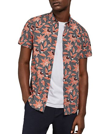 Ted Baker - Archi Floral Slim Fit Shirt