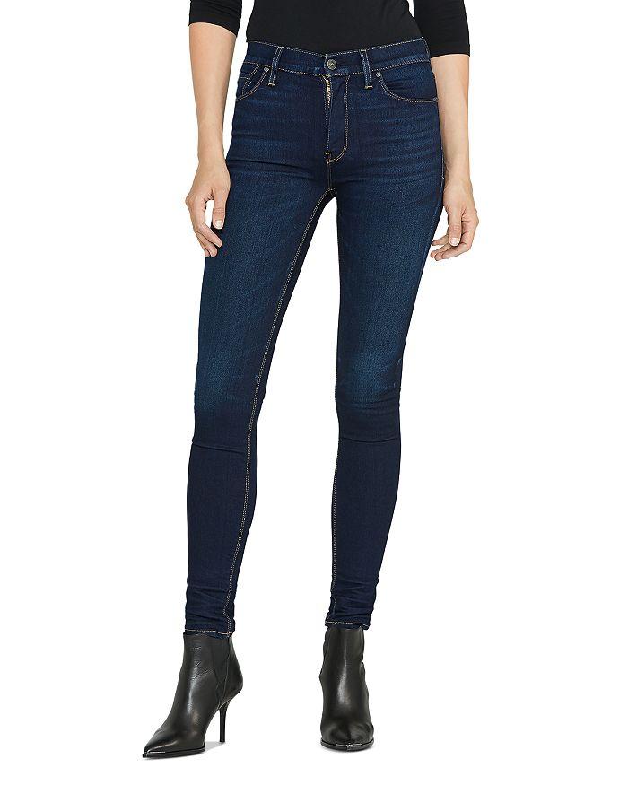 Hudson - Barbara High Rise Super Skinny Jeans in Requiem