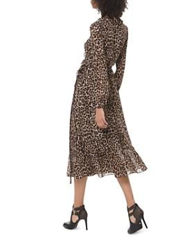 MICHAEL Michael Kors - Animal-Print Midi Wrap Dress