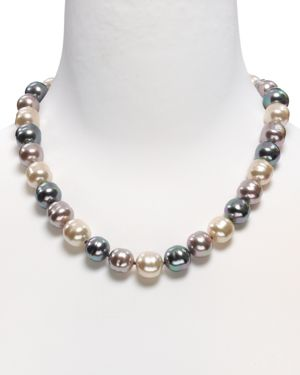 Majorica Baroque Simulated Pearl Necklace, 20