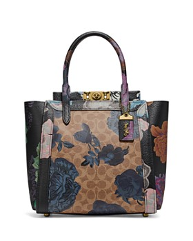 COACH - 1941 Troupe Tote with Signature Canvas & Kaffe Fassett Print