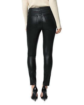 Joe's Jeans - The Charlie Ankle Cut Hem Jeans in Black