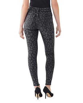 DL1961 - Farrow High Rise Printed Skinny Jeans in Lennox