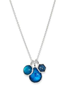 "IPPOLITA - Sterling Silver Wonderland Pendant Necklace in Blue Moon, 18"""