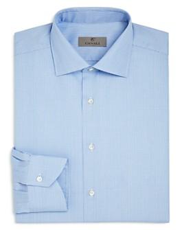 Canali - Glen Plaid Regular Fit Dress Shirt