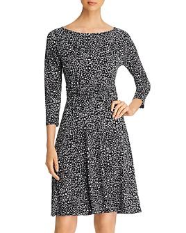 Leota - Ilana Printed Shirred-Waist Dress