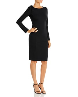 Armani - Body-Con Dress with Shoulder Detail