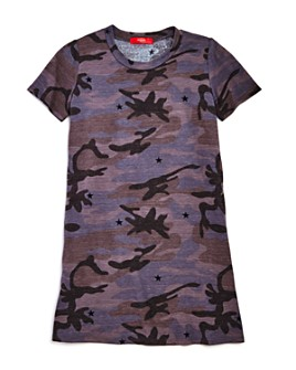 AQUA - Girls' Camo T-Shirt Dress, Big Kid - 100% Exclusive
