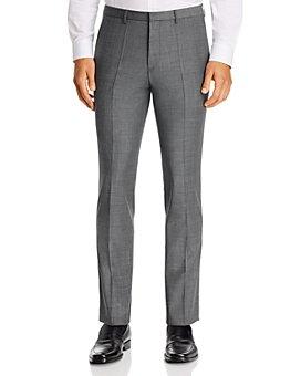 HUGO - Hesten Houndstooth Extra Slim Fit Suit Pants