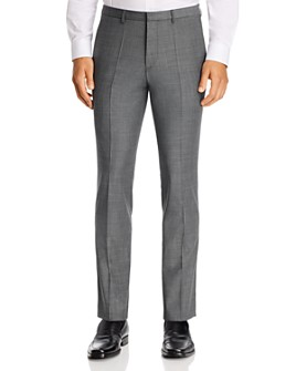 HUGO - Hesten Houndstooth Extra Slim Fit Suit Pants