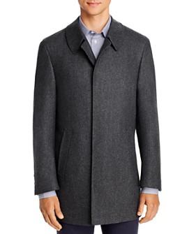 Canali - Wool Classic Fit Car Coat