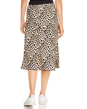 ATM Anthony Thomas Melillo - Jaguar-Printed Silk Pull-On Skirt