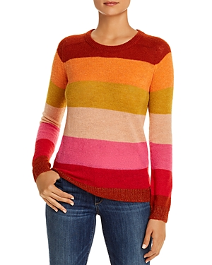 Scotch & Soda Sweaters COLORFUL-STRIPE CREWNECK SWEATER