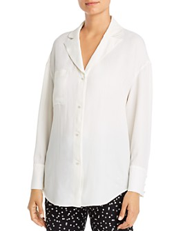 Armani - Notched-Collar Blouse