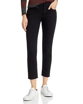 rag & bone - Dre Slim Boyfriend Jeans in No Fade Black