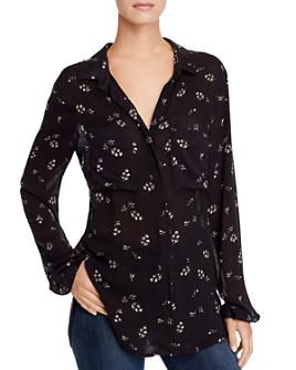 Bella Dahl - Hipster Floral-Print Shirt