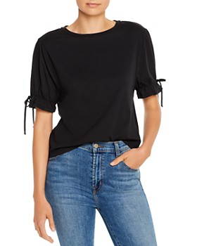 COMUNE - Bellebrook Bow Detail Tee