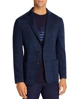Armani - Textured Regular Fit Soft Jacket - 100% Exclusive