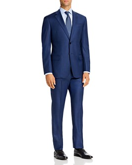 Armani - Plain-Weave Virgin Wool Regular Fit Suit