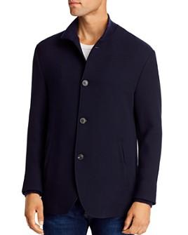 Armani - Knit Regular Fit Jacket