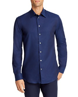 Armani - Micro-Dash Regular Fit Sport Shirt