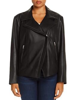 Marc New York Plus - Bayside Leather Jacket