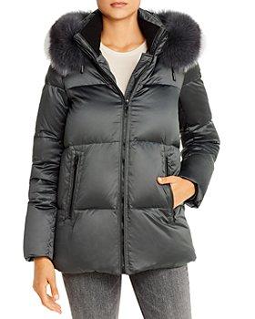 Maximilian Furs - Fox Fur-Trim Down Coat - 100% Exclusive