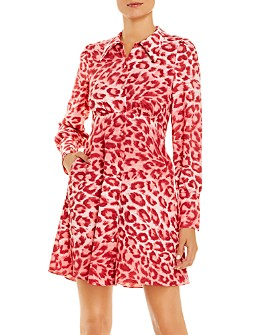 kate spade new york - Panthera Shirt Dress